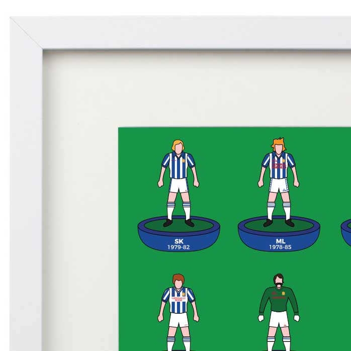 Huddersfield Town 80s Legends Gift Picture Frame.